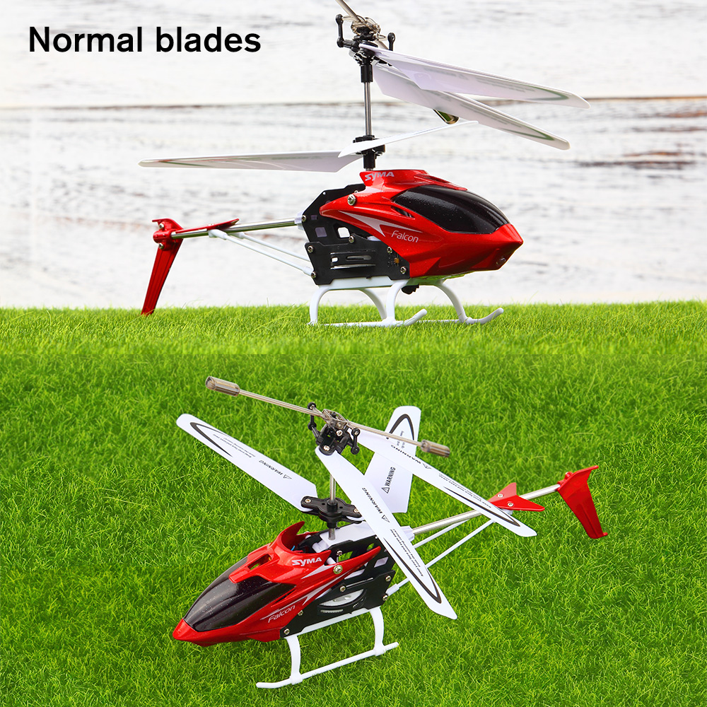 Image 2 - SYMA W25 RC Helicopter Aircraft 2CH Shatterproof Remote Control Copter Helicopter Built Gyro Radio Mini Drones Indoor Kid Funny-in RC Helicopters from Toys & Hobbies