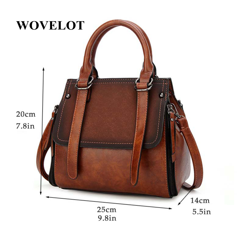 405b9c0268 Detail Feedback Questions about FGGS PU leather women handbag vintage tote  bag panelled stone women shoulder bag messenger bag on Aliexpress.com