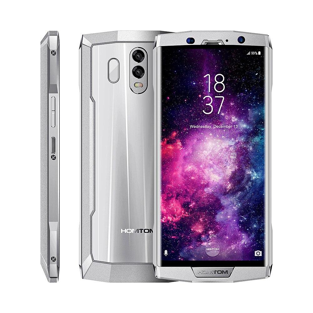 HOMTOM HT70 Smartphone 4G 6,0 pulgadas Android 7,0 MTK6750T Octa Core 1,5 GHz 4 GB RAM 64 GB ROM dual cámaras traseras batería de 10000 mAh