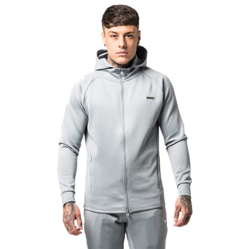 Spring Men Sportswear Tracksuit Hooded Jacket Sweatshirt pant Male Running Jogger Casual Workout Outfit Exercise Set Sport Suit in Trainning Exercise Sets from Sports Entertainment