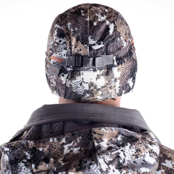 6c38bdd2 ... 2019 Winter Sitka Hunting Cap Men GTX Hat Camouflage Cap Berber Fleece  Lining Windproof Waterproof Cap ...