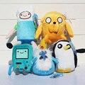Brinquedos de Pelúcia tempo De aventura Finn Jake Beemo BMO Pinguim Gunter Gelo rei Marceline Lemongrab Lumpy Espaço Bonnibel Bubblegum