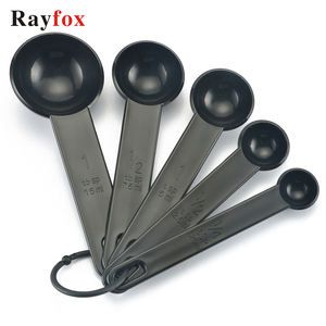 Kitchen Accessories Gadgets 5pcs/Set Measuring Spoon For Baking Coffee Tea Measure Tool Baking Tool Kitchen Supplies Goods Item(China)