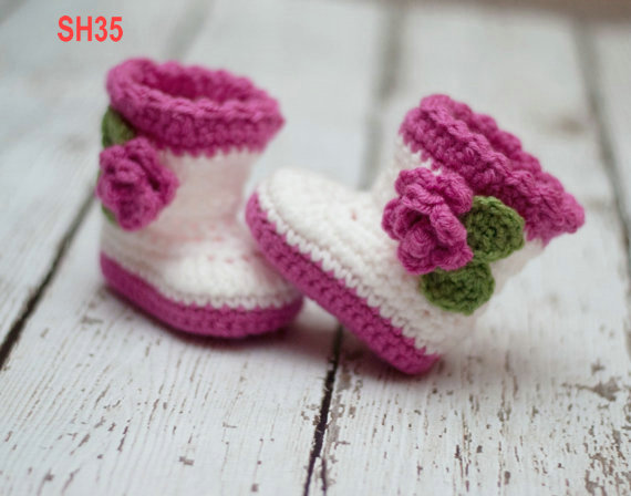 2017 New Shoes For Baby Girl 12 Colors Knitted Booties Newborn
