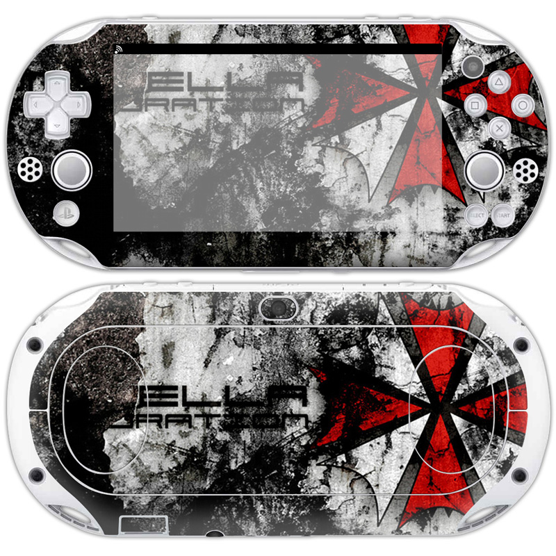 Free drop shipping good quality make your own gaming sticker for psp vita 2000 skin sticker #TN-PV2000-0495