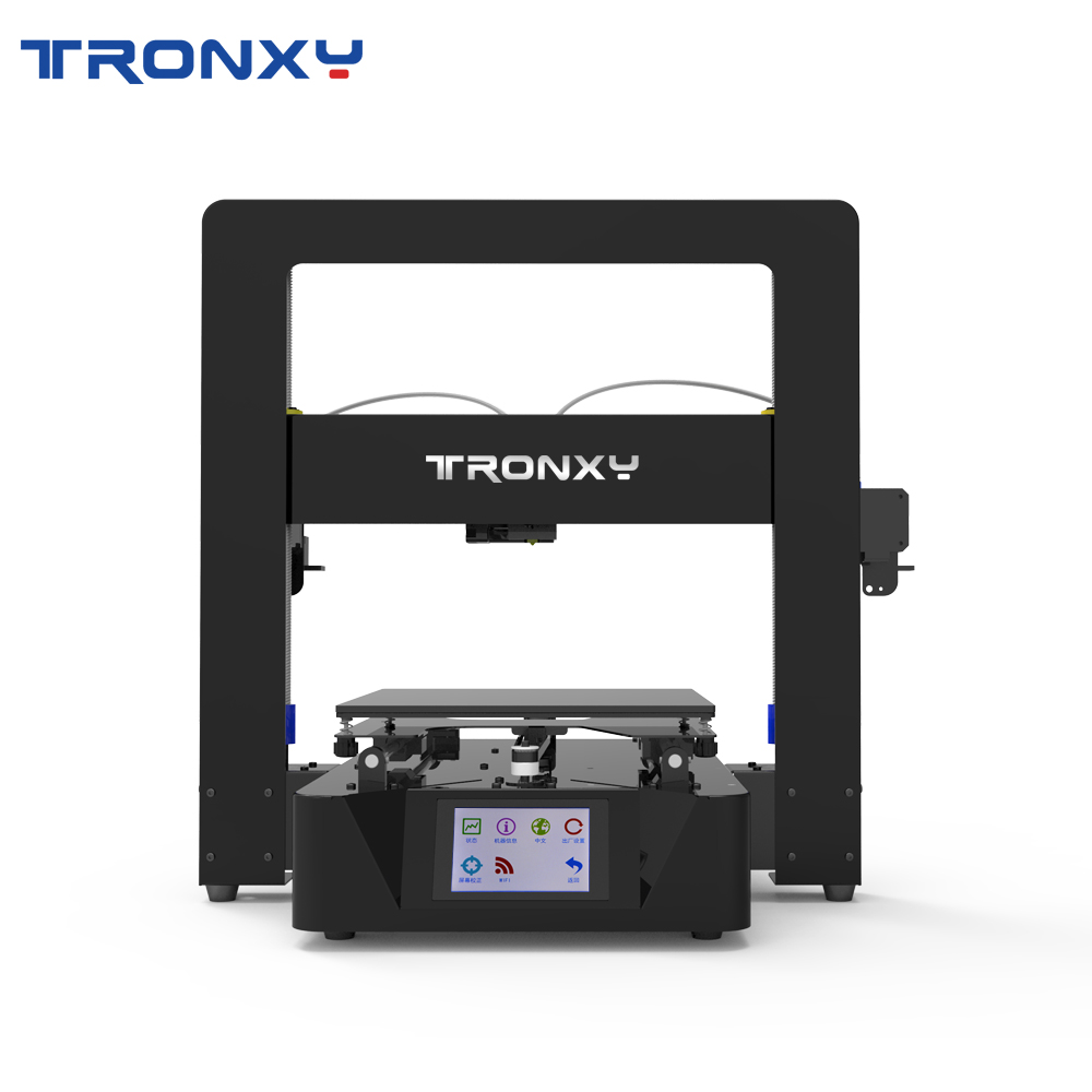 TRONXY Dual Colors 3D Printer X6-2E Print More Styles and Colors Power Failure Resume to Print Dual Color Printing With Bowden image