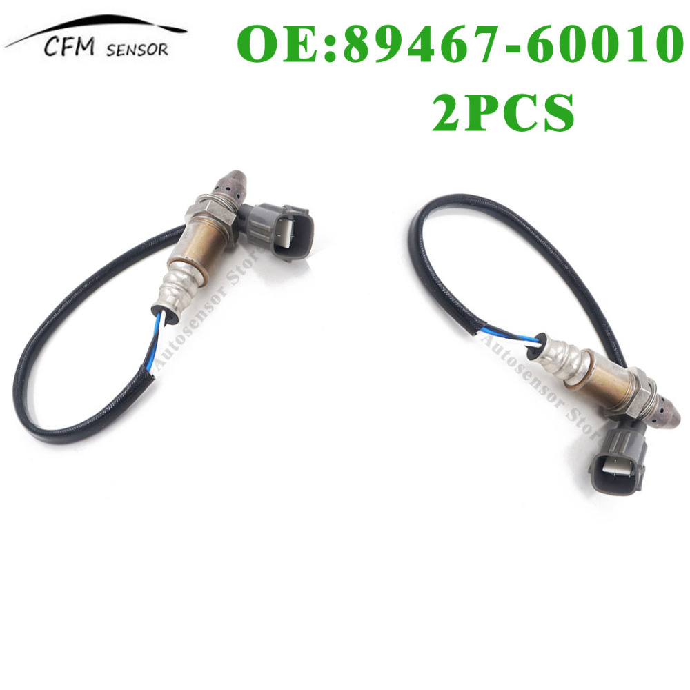 2PCS New 89467-60010 Oxygen Air Fuel Ratio Sensor For Lexus ES330 RX400H Toyota Camry