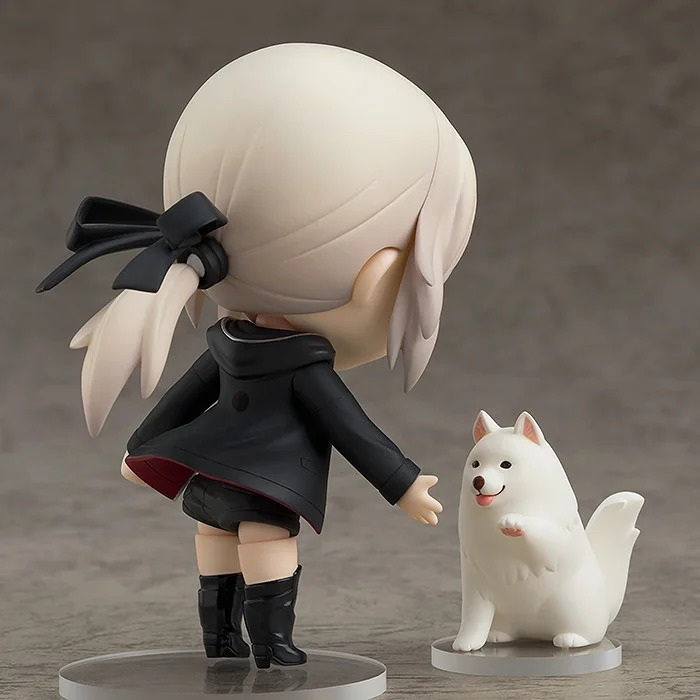 【手办】GSC《Fate/Grand Order》Saber Alter 黑呆 新宿ver粘土人开定- ACG17.COM