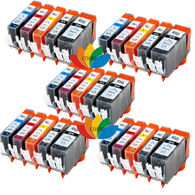 5 FULL SET COMPATIBLE CANON 450 451 INK CARTRIDGE FOR PIXMA IP7220 IP7240 IP8740