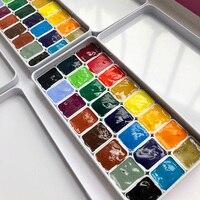 Holbain 미야자키 스튜디오 공동 op 24 색 수채화 안료 0.5 ml 1 ml 2 ml 포장|수채화 물감|사무실 & 학교 용품 -