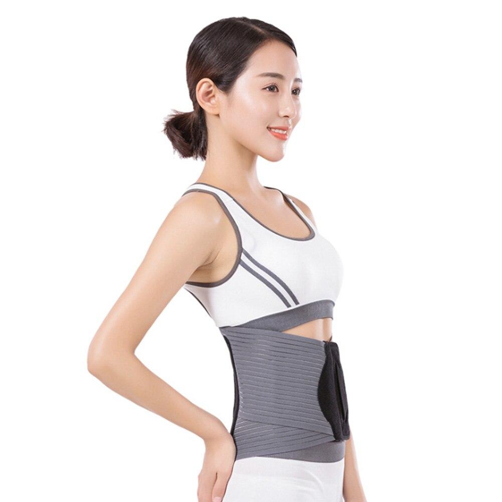 Women Corset Slim Therapy Waist Support Adjustable Brace Lumbar Belt Shapewear