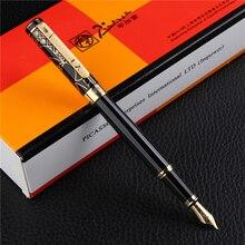Picasso 902 Pimio Gentleman Sammlung Brunnen Pen Fein Nib Schreiben Tinte Stift Geschenk Box Optional für Büro Business Schule Geschenk