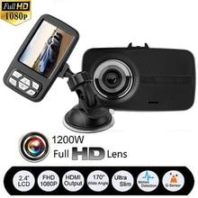 2.4″ FHD 1080P Car DVR V18 Ultra Thin Car-styling Digital Video Recorder Automobiles Camera Dash Cam Dashcam Motor Camcorder