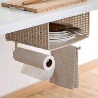 Kitchen cabinet under the hanging basket wardrobe partition rack cabinet compartment shelf rack under the table hook rack
