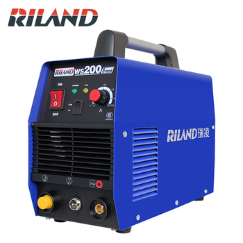 цена RILAND Handheld Mini IGBT MMA Electric Welder 220V 10-200A Inverter Welding Machine Tool WS200S  INVERTER ARC 200A WELDING онлайн в 2017 году