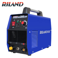 RILAND Handheld Mini MMA Electric Welder 220V 10 200A Inverter ARC Welding Machine Tool WS200S IGBT INVERTER ARC 200A WELDING