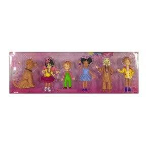 6pcs/lot fancy nancy PVC Toys