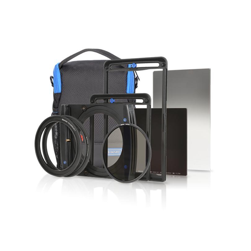 Benro FH100M2K2 100mm system Filter Holder kit FH100M2 ND64 Soft GND8 82mm CPL Bag