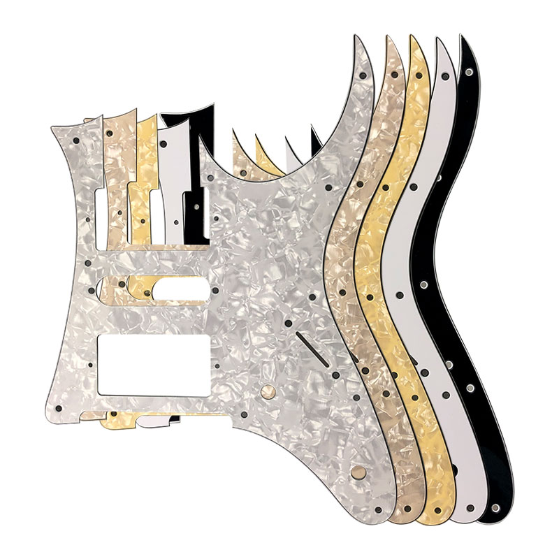 Pleroo Custom Electric Guitar Parts - For MIJ Ibanez RG 350 DXZ Guitar Pickguard HSH Humbucker Pickup Scratch Plate