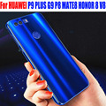 Case For HUAWEI HONOR 8 P9 PLUS Mate 9 Original IY Luxury Aluminum Metal Frame + Mirror PC Back Cover Case H82