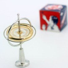 Newest High quality Spinning Top toys for children boys metal gyroscope magnetic levitation spinning high speed magic peg top gyroscope kid toy