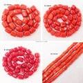 """Бесплатная доставка! 9-16 мм Orange, Red Coral Freeform Бисер 15 """"/38 см, для Ювелирных Изделий DIY Решений! может смешанная оптовая продажа!"""