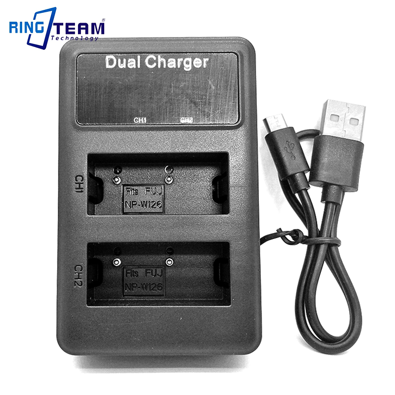 USB Cargador De Batería Para Fujifilm FinePix HS30 HS30EXR HS33EXR HS35 HS35EXR HS50