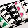 Baby Muslin Blanket Newborn Fleece Black White Rabbit Cross Flannel Baby Toddler Bedding Swaddling Kids Gift
