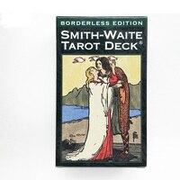 100% original English version 84pcs Smith Waite Tarot Deck tarots board game cards