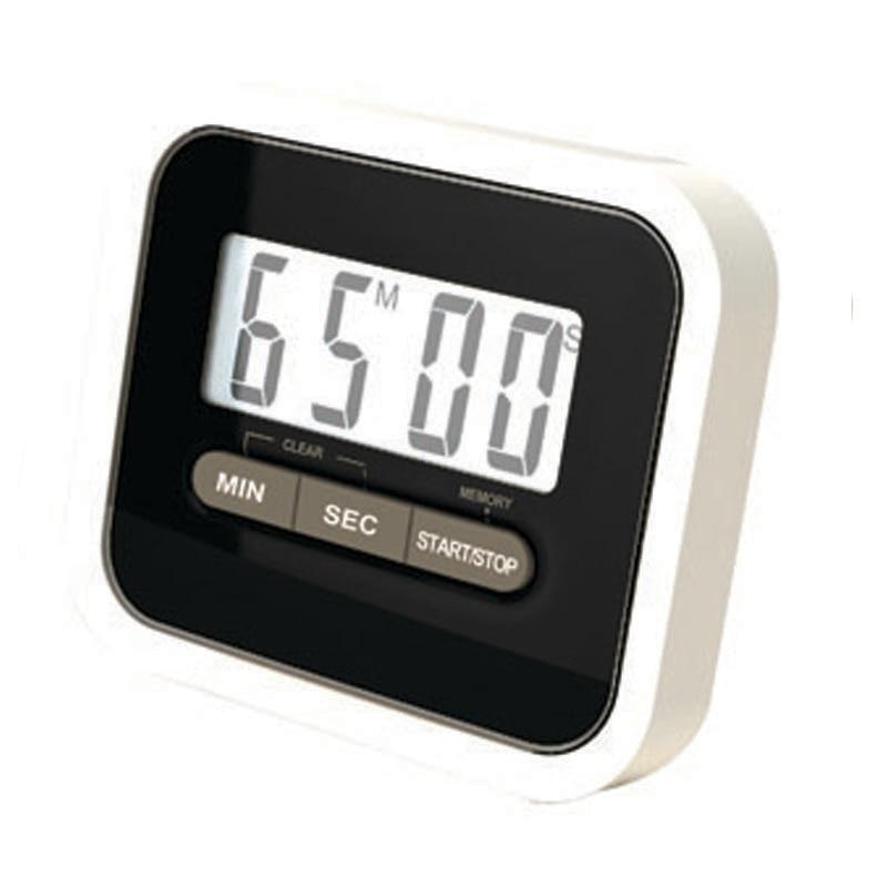 Lazy Electronic Timer Kitchen Cooking School Laboratories Reminder Magnet Bracket