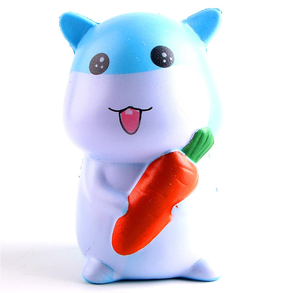 Squishy Kawaii Jumbo Slow Rising Squeeze Radish Rabbit Toy Slow Rising Antistress Ball Funny Kawaii Food Squishy Scented DE27b