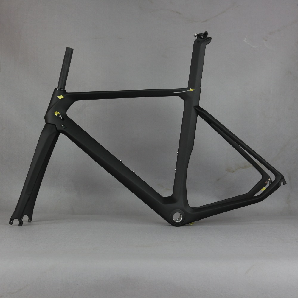 2019 carbon bicycle frame carbon road frames carbon frameset BB86 frame , aero road bike frame accept paint . 2017 flat mount disc carbon road frames carbon frameset bb86 bsa frame thru axle front and rear dual purpose carbon frame