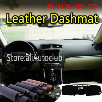 For Lexus IS200D IS220 IS250 IS300 IS350 2006-2012 Leather Dashmat Dashboard Cover Dash Mat SunShade Carpet Custom Car Styling
