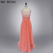057183d69c Buy chiffon peach dress and get free shipping on AliExpress.com