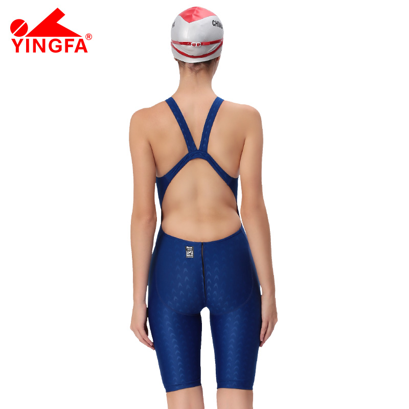 311a8cf11d9df Yingfa FINA Approval Professional swimming women knee Swimsuit Sports  Competition Tight full body Bathing Suit-in Body Suits from Sports &  Entertainment on ...