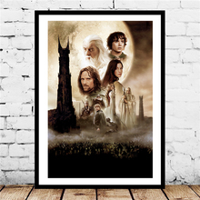 Lord Of The Rings The Two Towers Canvas Painting Print Living Room Home Decor Modern Wall Art Oil Painting Poster Salon Pictures the lord of the rings part 2 the two towers