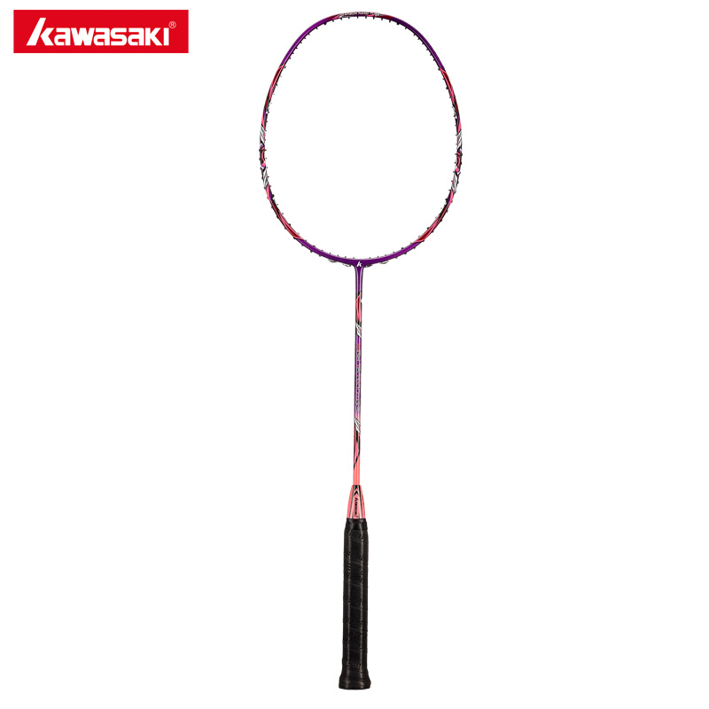 Kawasaki 2018 High Tension G3 Badminton Rackets Ball Control Type Two In One Frame Structure Racquet For Junior Plyers
