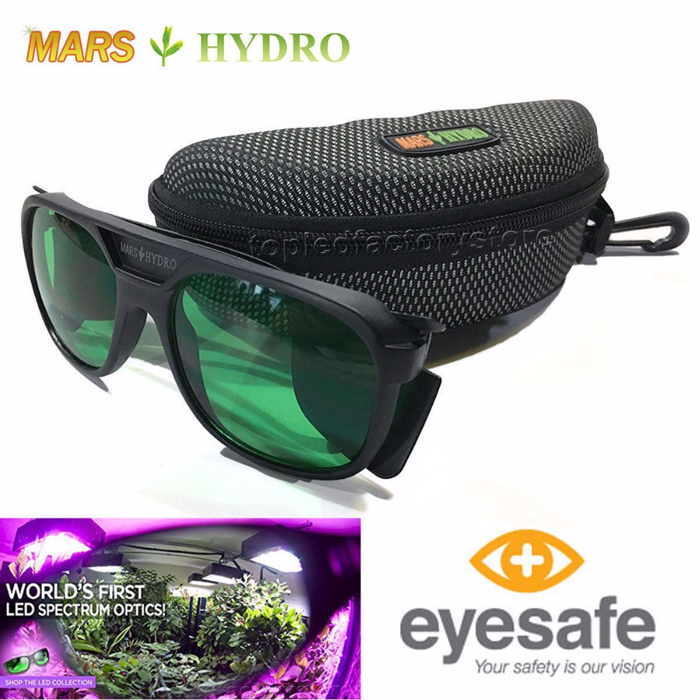 Mars Hydro Indoor Hydroponics LED Grow Room Glasses Eye Protection