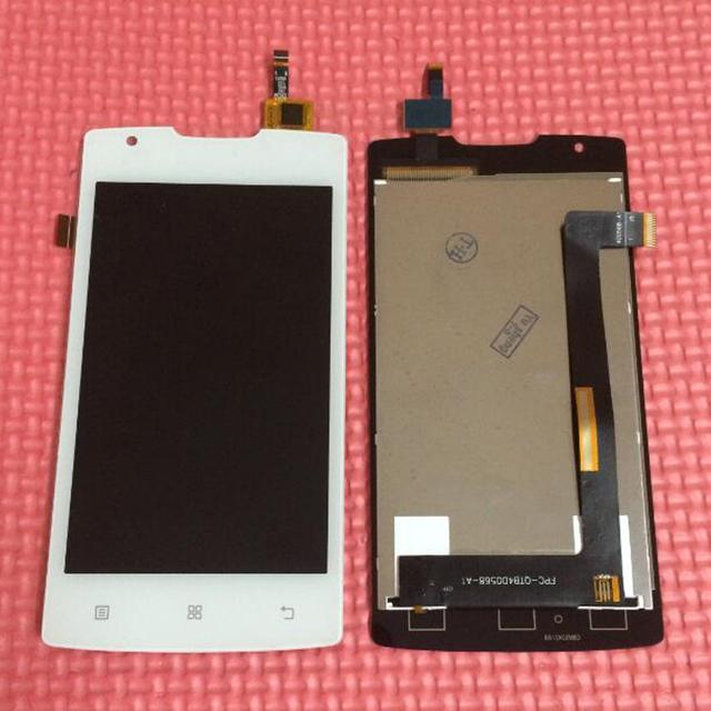 100% de garantia de trabalho lcd touch screen digitador assembléia para lenovo a1000 telefone inteligente sensor de substituição de exibição