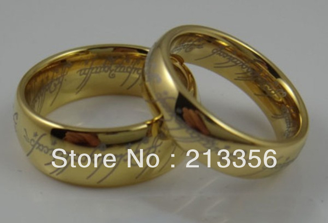 Free Shipping !Cheap Price Promotion Sales!USA Hot Selling His&Her's 8MM/6MM Lord Of Ring Tungsten Carbide Wedding Band Ring Set