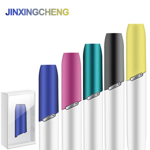 Image 1 - JINXINGCHENG new 10 Colors Protective Cap Mouthpiece for iqos 3.0 Heating rod holder Replacement Cap for iqos 3 duo Accessories