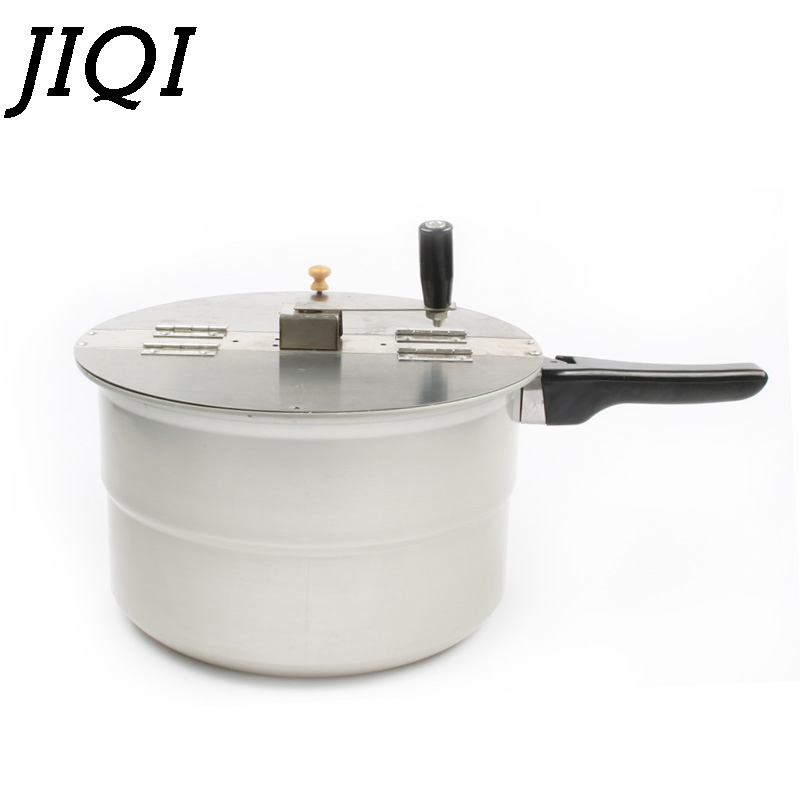 JIQI gas stove hot air popcorn machine hand-cranked single pot popcorn maker pot Commercial home use manual corn Pressure cooker homeleader 7 in 1 multi use pressure cooker stainless instant pressure led pot digital electric multicooker slow rice soup fogao