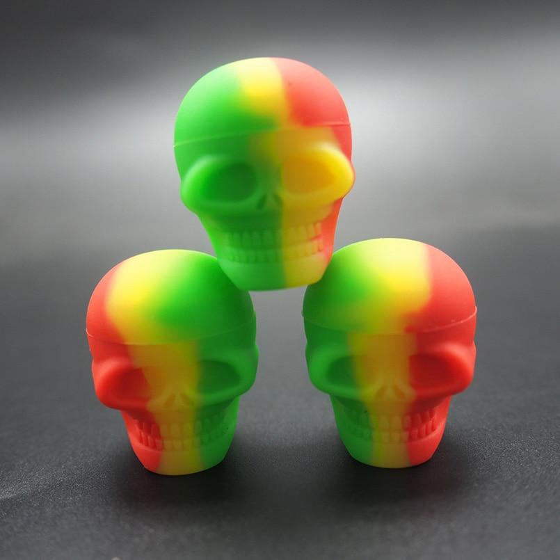10db 3ml Skull szilikonolaj viasz koncentrátum tartály vagy - Szervezés és tárolás - Fénykép 1
