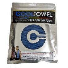 Горячее предложение, Крутое полотенце, новое, ледяное, холодное, долговечное, для бега, бега, тренажерного зала, мгновенное охлаждение, для спорта на открытом воздухе, полотенце