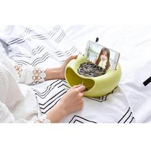 Double Layer Dry Fruit Containers Snack Storage Box Melon Seeds Nut Bowl Holder Organizer Basket Dish Dulang Stent Telefon #BF