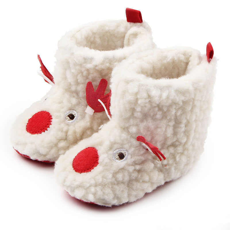 Baby Winter Boots Infant Toddler Newborn Cute Bow-knot Shoes Girls Boys First Walkers Super Keep Warm Snowfield Booties Boot
