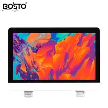 BOSTO 21.5in X3 All in one Tavoletta Grafica Monitor per Disegnare Full HD Macchina dipinta A mano con Disegno di Arte guanto e Regolare Del Basamento