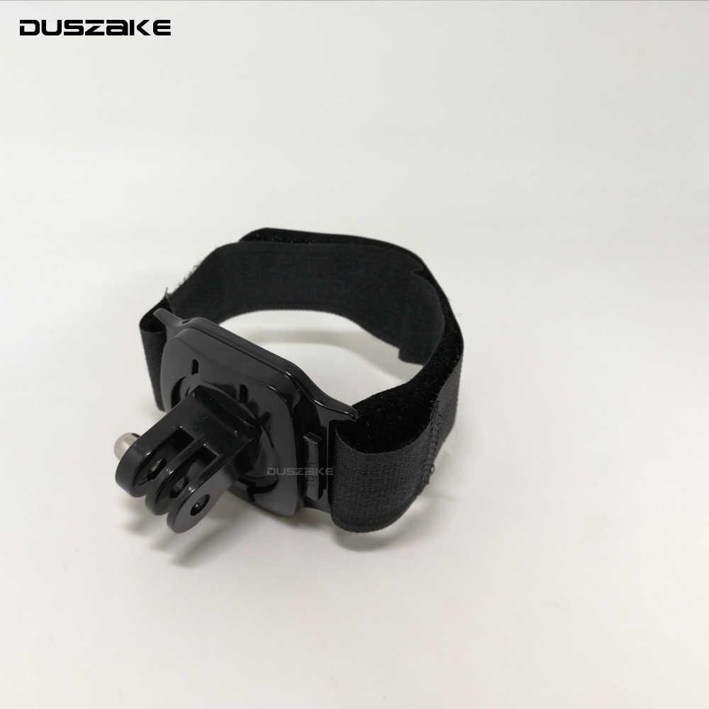 DUSZAKE DG25 ремень для гоупро аксессуары для восхождения для Gopro аксессуары ремень для спортивной экшн-камеры Xiaomi Yi 4 K ремешок для спортивной экшн-камеры Go Pro 6 Экшн-камера Eken H9 спортивной экшн-камеры SJCAM