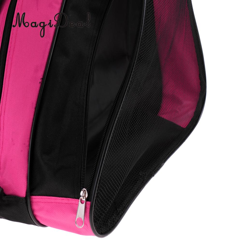 MagiDeal 2pcs Inline Roller Skating Boots Shoes Bag Ice Hockey Skate Shoulder /Hand