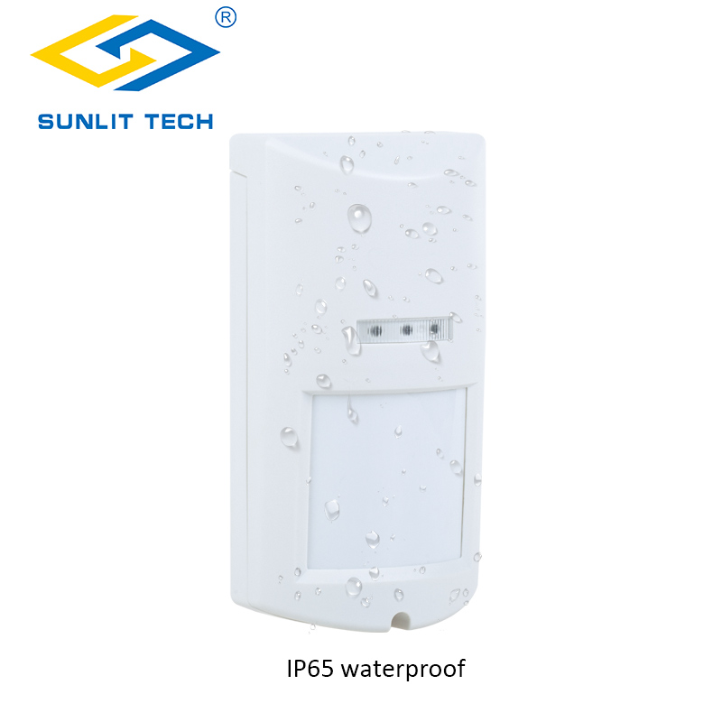 Outdoor Intelligent Wide Angle PIR Detector Wired IP65 PIR+Microwave Complex Motion Detector Alarm PIR Sensor Anti Pet to 20kgs цена